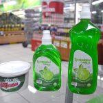 Lavaplatos Trébol 400 ml. 50 ml. y pasta de 500 ml.